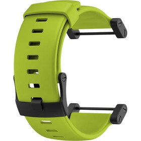 Suunto Core Crush Flat Rubber Strap lime
